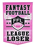 Winning Streak Fantasy Football League Loser Banner
