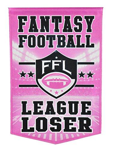 Winning Streak Fantasy Football League Loser Banner by Winning Streak