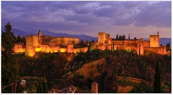 ZZXSY Puzzles Niños Granada España. La Belleza De La Alhambra con ...