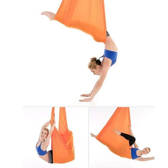 XINYAN JIA Columpio Yoga Aéreo Hamaca, Flying Swing Aerial ...