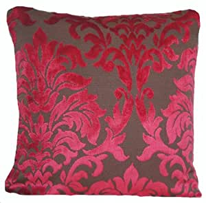Funda para cojín de terciopelo Rasberry funda de almohada tejido Marvic Textiles Heritage de terciopelo