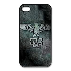 Personalized Durable Cases iPhone 4,4S Cell Phone Case Black Rammstein Tiujx Protection Cover