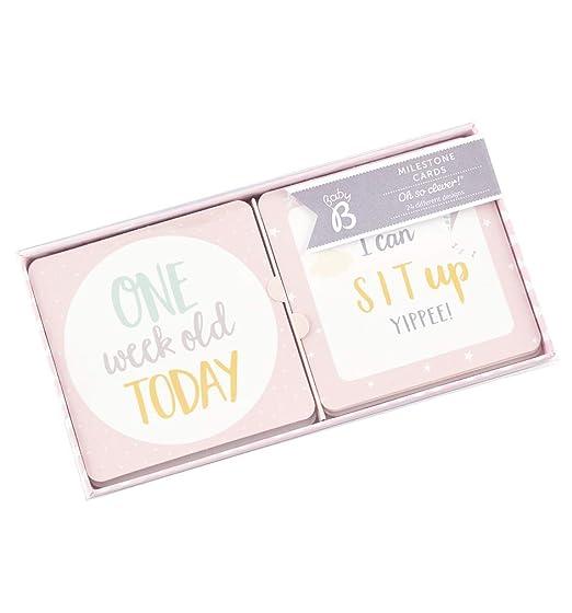 Amazon.com: Busy B Baby Milestone Tarjetas: Baby
