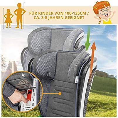 Pixel Black Pixel Black Safety 1st 8765830000 Safety 1st Road Fix-Kindersitz 15-36 kg praktischer Autositz mit ISOFIX-Installation ca Gruppe 2//3 nutzbar ab 3-12 Jahre h/öhenverstellbar