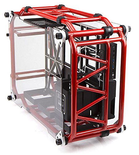 In Win Signature Motorcycle Steel Tube ATX Computer Case Cases D-Frame Red Red (Thermaltake Core P1 Tempered Glass Mini Itx)