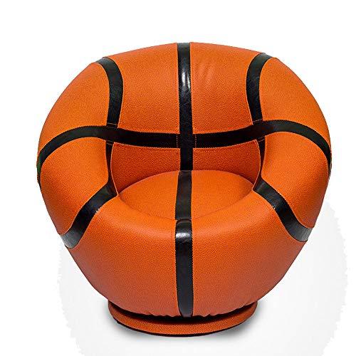 Wood Wood Sofá De Baloncesto De Estilo Deportivo Infantil con Reposapiés Giratorio Escabel