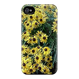 Shock-dirt Proof Black Eyes Susans Case Cover For Iphone 4/4s by lolosakes