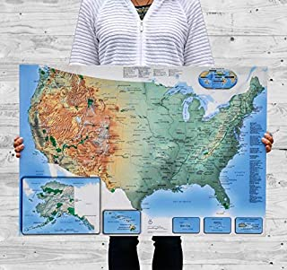 product image for Push Pin USA Map World Travel Map Anniversary Gift for Him Her Wife Boyfriend Christmas Gift Wedding Colorful Travel Gift Traveler Gift Dad