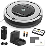 iRobot Roomba 860 Vacuum Cleaning Robot + Dual Mode Virtual Wall Barrier (With Batteries) + Extra High Efficiency Filter + More