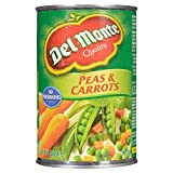 Del Monte Peas and Carrots, 398 ml, Pack of 24