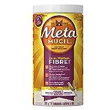 Metamucil Original Texture Unflavoured Sugar Psyllium Fiber Powder 114 Doses- Packaging May Vary