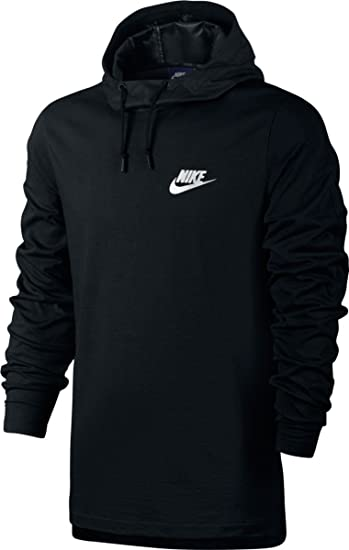 b3d1ae84233a NIKE Sportswear Advance 15 Long-Sleeve Knit Hoodie Black Black (2XL ...