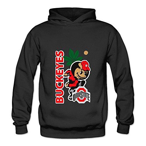 HUBA Women's Sweater Ohio State Buckeyes 2 Black Size XXL (Kitchenaid Clock)