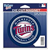 "Minnesota Twins Official MLB 4.5""x6"" Car Magnet by Wincraft"