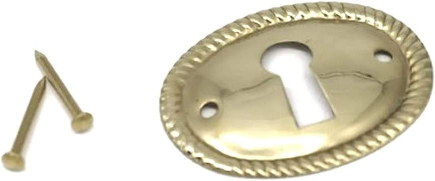 Furniture Keyhole Cover Plate 1-1/2