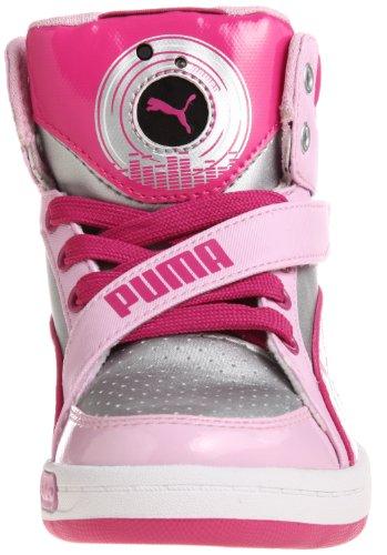 PUMA Jr Puma Dj 65 - Zapatillas para niños Silver