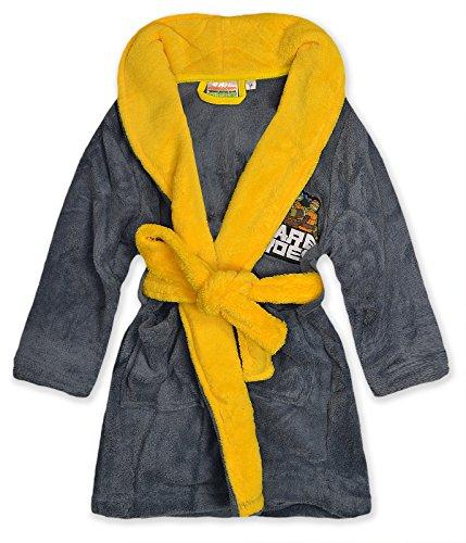 Price comparison product image Boys Teenage Mutant Ninja Turtles Dressing Gown Kids Bathrobe New Age 3-8 Years