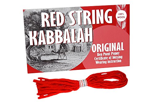(8 pcs Original Kabbalah Red String Bracelet from Israel - Powerful Protection for Your Family against Evil Eye)