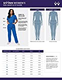 SIVVAN Scrubs for Women - Long Sleeve Comfort