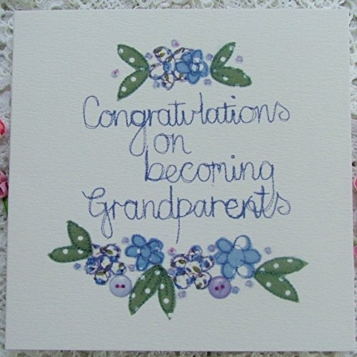 greetings card congratulations on becoming grandparents amazon co
