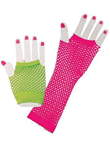 Forum Novelties Fishnet Fingerless Gloves ()