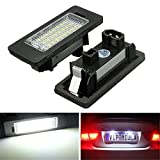 KATUR 1 pair E-marked OBC Error Free 24SMD LED License Number Plate Light Lamp For BMW E81 E82 E90 E91 E92 E93 E60 E61 E39 X 1/E84