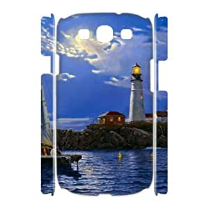 QNMLGB Lighthouse4 Phone 3D Case For Samsung Galaxy S3 I9300 [Pattern-1]