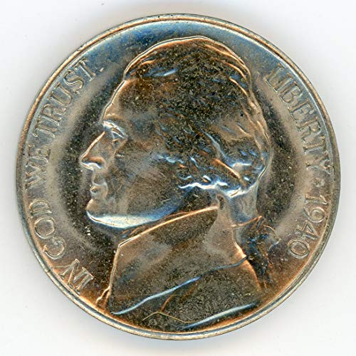 1940 S Jefferson Nickel MS-65