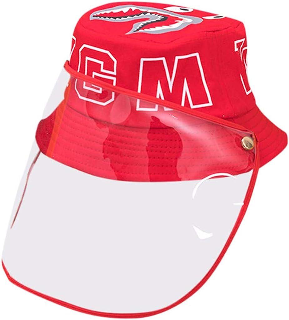 FEYTUO Gorra de protección Anti-Saliva Seguridad Sombrero Anti-escupir Protector Facial Anti-vaho Sombrero Impermeable al Aire Libre para Hombres y Mujeres a Prueba de Polvo