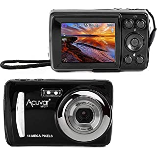 "Acuvar 14MP Megapixel Compact Digital Camera and Video with 2.4"" Screen and USB Cable"