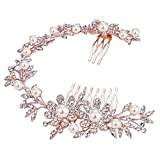 Best Bling Jewelry Headbands - BriLove Women's Bohemian Wedding Bridal Daisy Flower Crystal Review