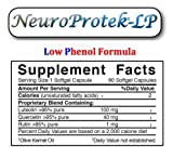 NeuroProtek Low Phenol - 12 Bottle 20% Discount Pack (60 softgels per Bottle)