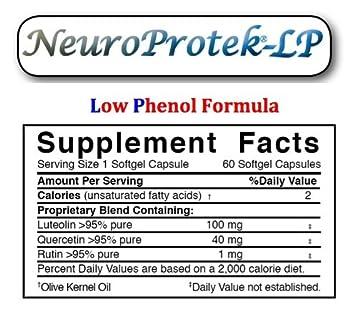 Amazon.com: neuroprotek LP – Bajo fenol Fórmula, 4: Health ...
