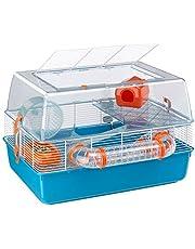 Ferplast 57921499 Knaaghuis voor hamsters, complete uitrusting, Duna fun, ca. 55 x 47 x 37.5cm, meerkleurig