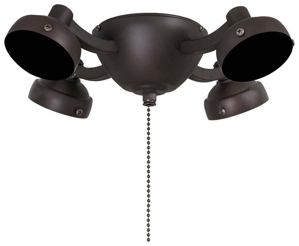 Minka Aire K34-ORB Accessory - 11.87'' Four Light Fitter, Oil Rubbed Bronze Finish