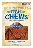 True Chews Chicken Jerky Fillet Original,  4-Ounce Bag, My Pet Supplies