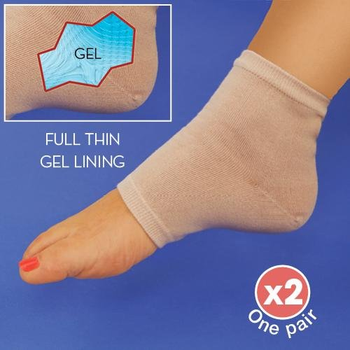 One Pair Gel Foot Therapy Compression Ankle Sleeves Sock