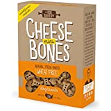 Wheat Free Bones Natural Made in the USA Healthy Dogs Treat Biscuits Bone Treats small mini Great For Training limited ingredient dog treats crunchy (Cheese, Mini Size Bones)