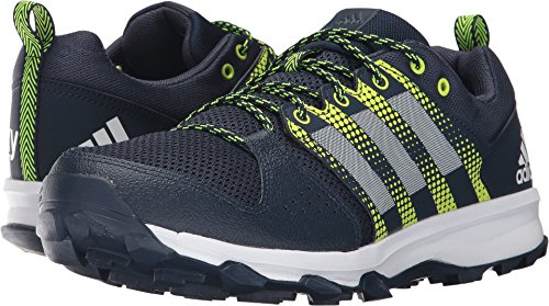 's Galaxy Trail m Running Shoe, Collegiate Navy/White/Solar Yellow, 12 Medium US (Collegiate Runner)