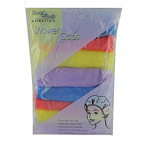 72 Shower cap value pack by FindingKing