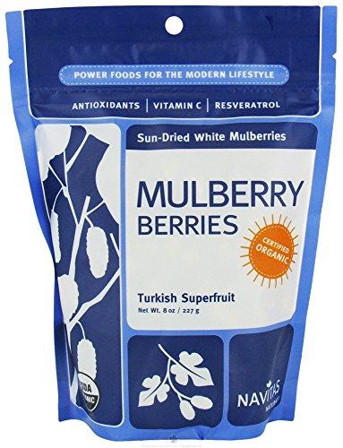Navitas Naturals Mulberry Berries Organic (9-Pack) by Navitas Naturals