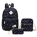 Casual Backpack, Aiduy 3 Pack School Backpack Lightweight Laptop Backpack for Student Girls Boys (Royal Blue)