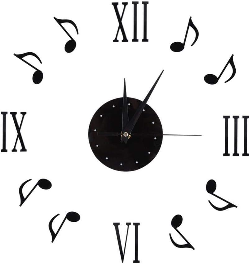 reloj de pared notas musicales