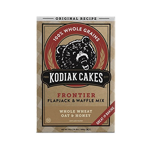 (Kodiak Cakes All Natural Frontier Pancake, Flapjack and Waffle Mix, Original, 24 Ounce)