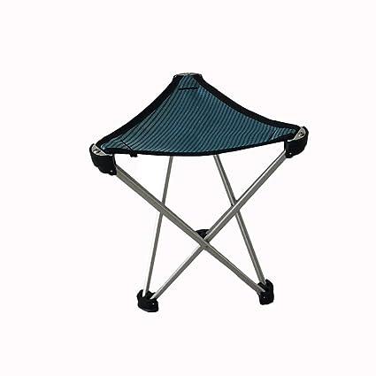 Amazon.com: DJDL Silla plegable ultraligera silla portátil ...