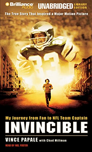 Invincible: My Journey from Fan to NFL Team Captain by Brilliance Audio