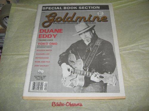 Goldmine Magazine, October 9, 1987 (VOL. 13 NO. 21 ISSUE 188)
