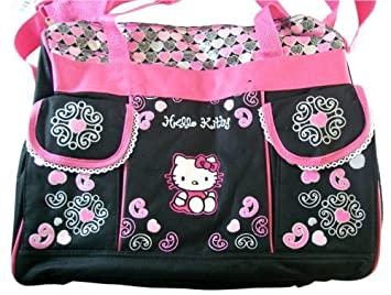Amazon.com   Sanrio Hello Kitty Diaper Bag -Kitty Baby Bag.   Diaper Tote  Bags   Baby 1f3bb3e07fd84