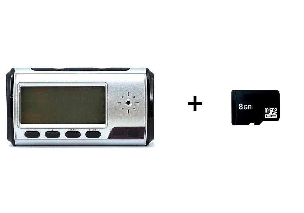 QUMOX Cámara Alarma Reloj Video Recorder Hidden Cam DVR de detección de movimiento y tarjeta de 8GB MicroSD: Amazon.es: Bricolaje y herramientas