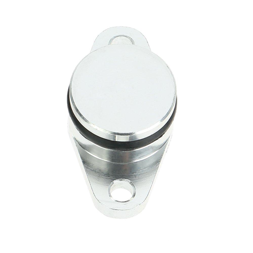 KKmoon 6 Stk 22mm Diesel Swirl Flap Rohlinge Ersatz Stopfen mit Intake Manifold Dichtungen